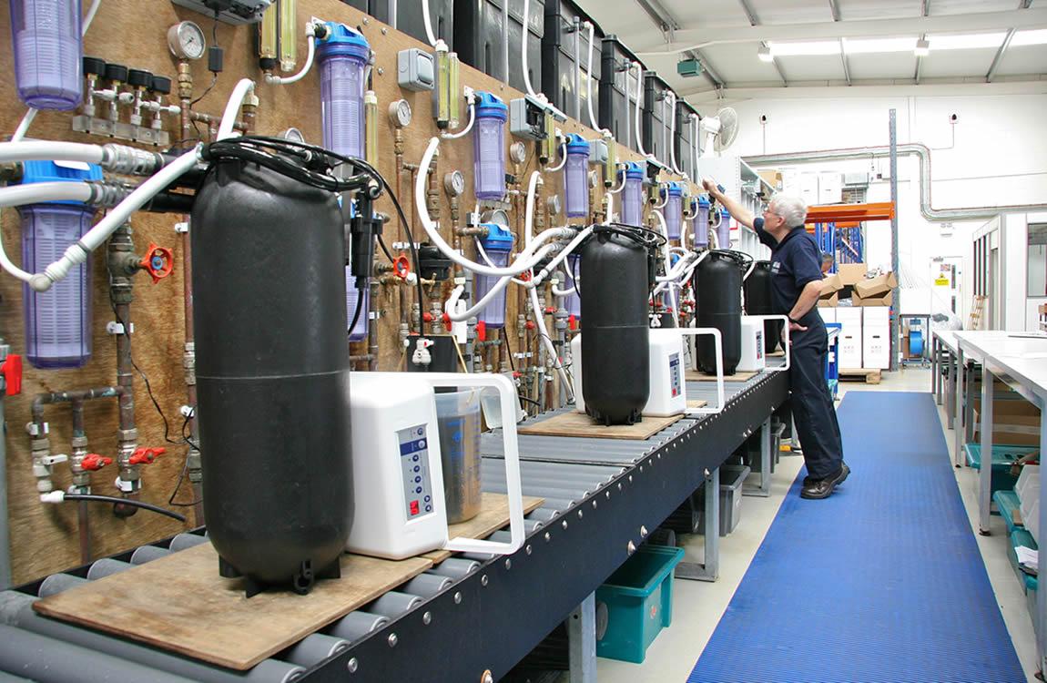Professionele Waterverzachters voor bedrijven en industrieën